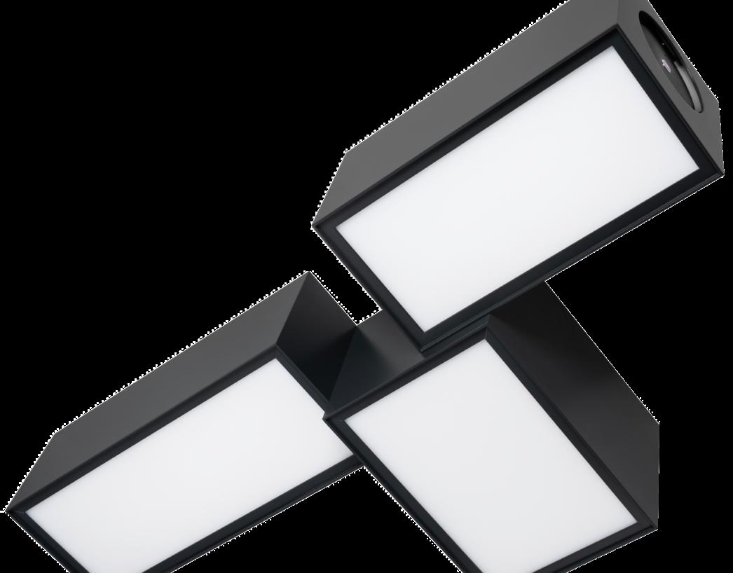 OZONOS_Deckenlampe_schwarz_aus freigestellt